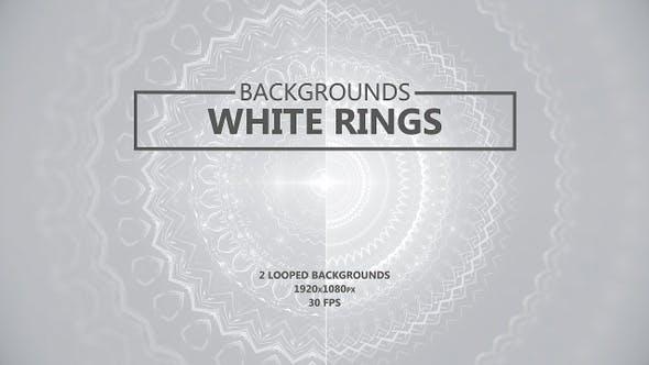 Thumbnail for Weiße Ringe abstrakte Hintergründe