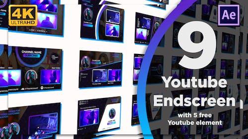 Youtube End Screens 9+5