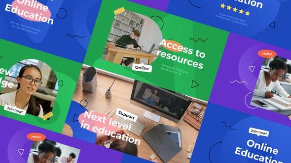 Online Education Intro Slideshow