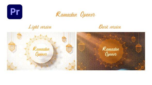 Ramadan Opener   MOGRT for Premiere Pro