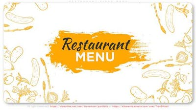 Restaurant Video Menu