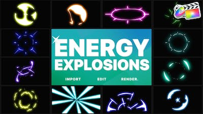 Energy Explosions   FCPX