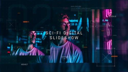 Digital Sci-Fi Slideshow / Technology Opener / Hi-Tech Futuristic Gallery / Corporate Presentation
