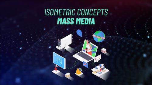 Mass Media - Isometric Concept