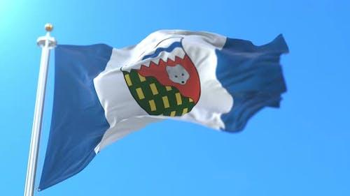 Northwest Territories Flag, Canada
