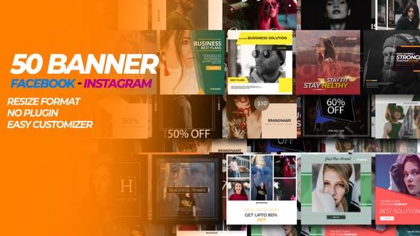 50 Facebook & Instagram Banner
