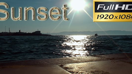 Thumbnail for Sunset Over Water