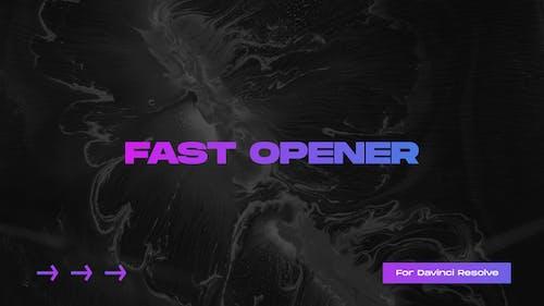 Fast Opener for Davinci Resolve