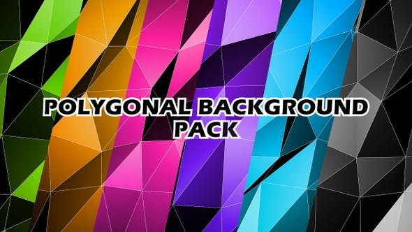 Cover Image for Low Poly Background Pack V2