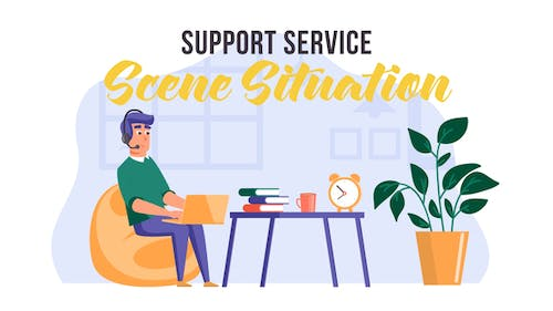 Support service -  Scene Situation
