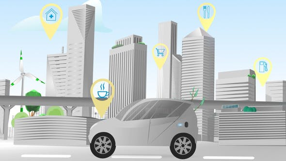 Smart City - Navi Directions Network