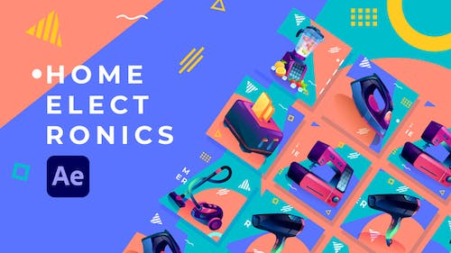 Home Electronics Product Promo | After Effects