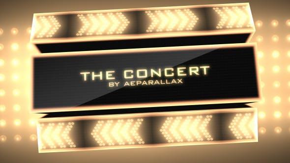 Party Slideshow Concert Presentation