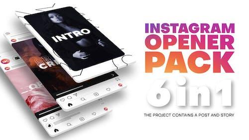 Instagram Opener Pack