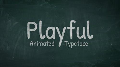 Playful - Animated Handwriting Typeface