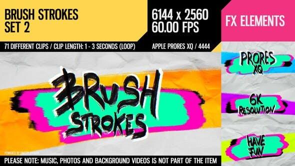 Brush Strokes (6K Set 2)