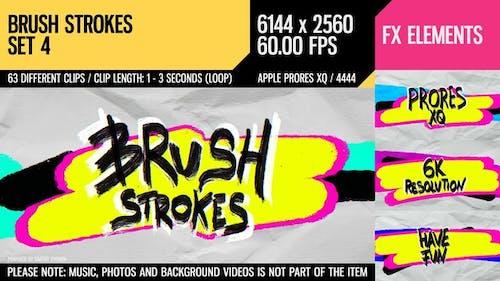 Brush Strokes (6K Set 4)