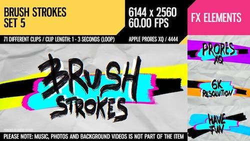 Brush Strokes (6K Set 5)