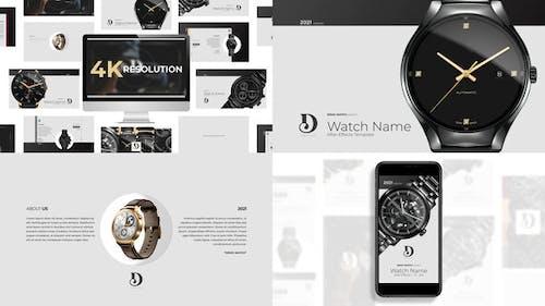 Elegant Watch Product Showcase
