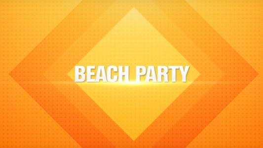 Thumbnail for Beach Party Promo