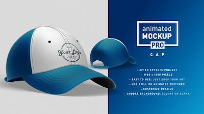 Animated Mockup PRO: Cap