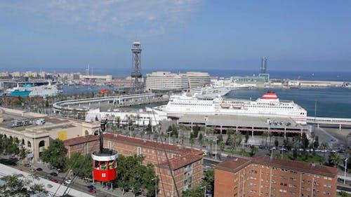 Cableway in Barcelona