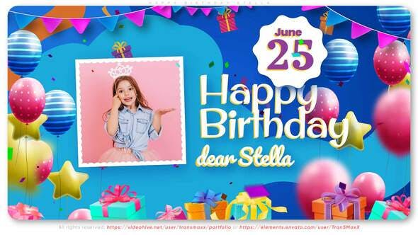 Happy Birthday Stella!