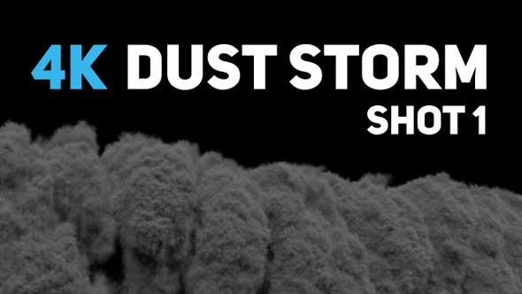 Thumbnail for 4K Dust Storm - Shot 1