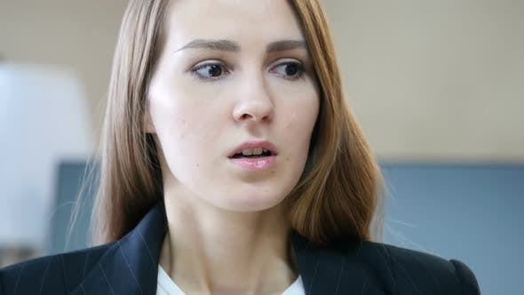 Thumbnail for Shocked, Close Up of Stunned Woman