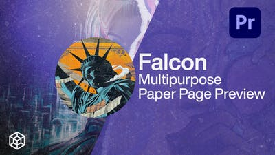Falcon - Multipurpose Paper Page Preview