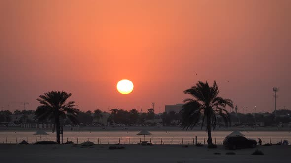 Thumbnail for Beautiful Sunset on the Beach