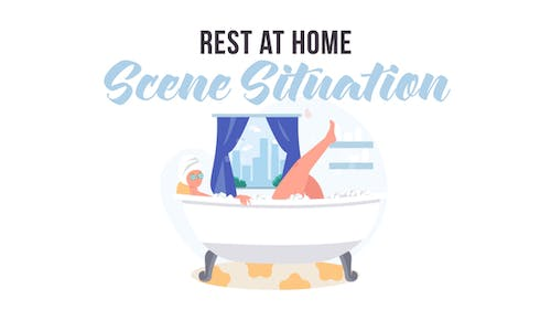 Rest at home -  Scene Situation