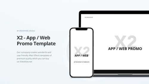 X2 - App / Website Promo