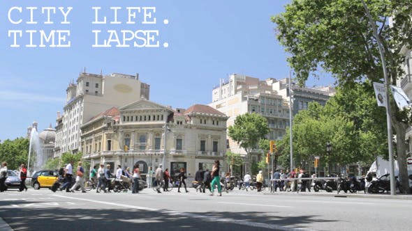 Cover Image for Street Traffic Time Lapse