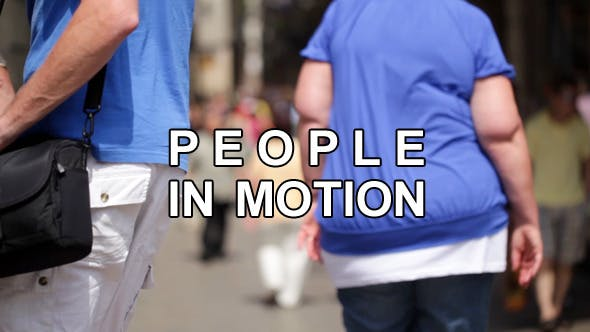 Thumbnail for Anonymous Walking People