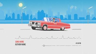 Car Music Visualizer
