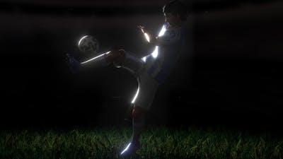 Soccer Kick Logo