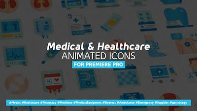 Medical & Healthcare Icons - Mogrt