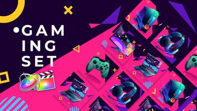 Gaming Set Product Promo | Apple Motion & FCPX