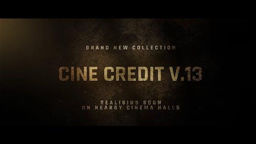 Cine Credit V.13