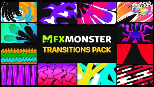 Handy Colorful Transitions | FCPX