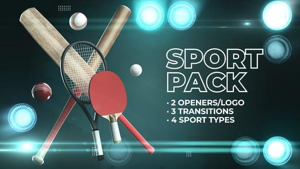 Pack de béisbol de críquet de tenis