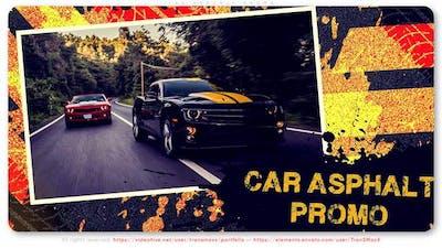 Car Asphalt Promo