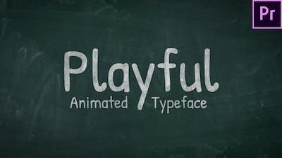 Animated Handwriting - Playful
