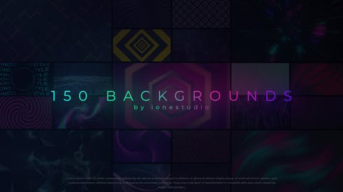 150 Loop Backgrounds For Premiere Pro