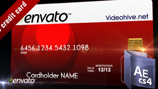 Thumbnail for 3D credit card