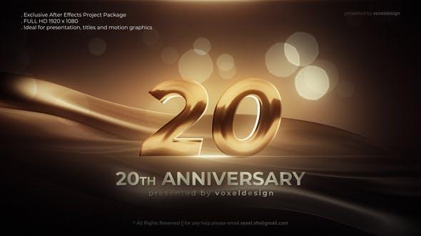 Anniversary Opener