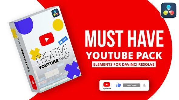 Davinci Resolve YouTube Pack