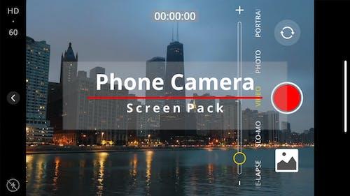 Phone Camera Screen Pack
