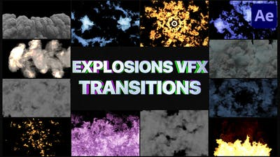 Smoke And Explosions VFX Transitions | After Effects